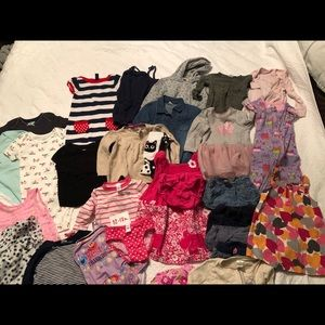 Baby Girl's Clothing 12-18 Months Bundle